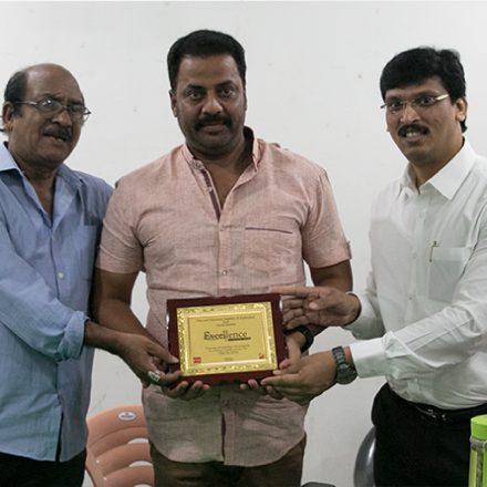 Actor Mr. Raja Ravindra Garu at best Film School in South India, FTIH Film School