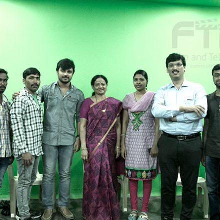 Acting workshop by Mrs. Adiraju Radha & Mr. Aumkar Kotamaraju at FTIH Film School