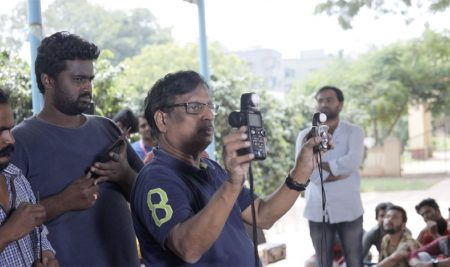 RED Camera Workshop on the First day by Renowned Cinematographer Mr.MV Raghu Garu