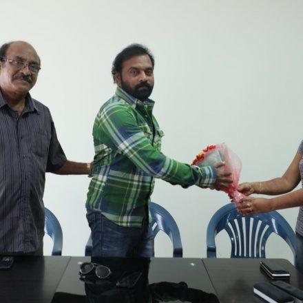 Acting Workshop By Dil Ramesh garu @ Sounth India Best Film School