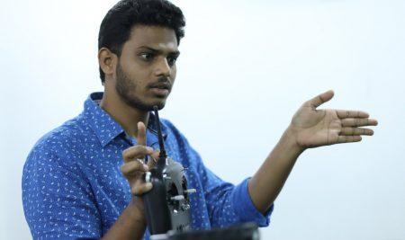 DJI Ronin Workshop was successfully conducted @ FTIH main campus by Venkat Shiva Mutyala