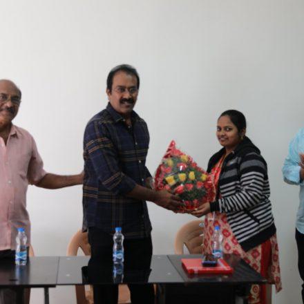 Acting Workshop By Mr. Navbharat Balaji garu @ FTIH Film School
