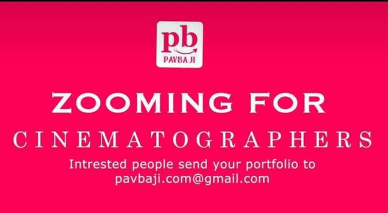 Zooming for Cinematographer @ PB Pavba Ji