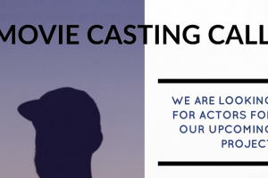 Casting call for movie