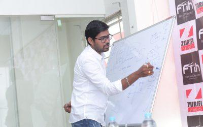 Workshop on Public Relations, Professionalism on sets by Mr. Megha Shyam Gaaru