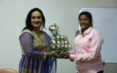 Acting Workshop by Miss Pujitha garu @ FTIH Film School